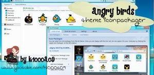 angry birds theme iconpackager by k1000a09 by k1000adesign