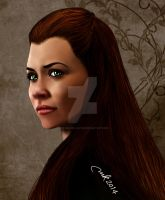Tauriel by fire-bender-saiyan