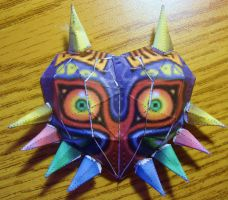 Majora's Mask Papercraft by AnimeGang