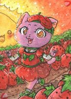 Strawberry Kitty by Berryfox