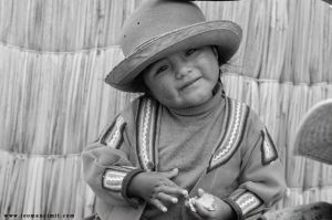 Uros girl,Titicaca by phototheo