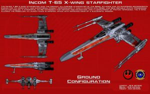 T-65 X-wing starfighter [1][New] by unusualsuspex