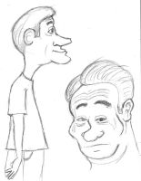 Caricature Style Test by Cartoon-Eric