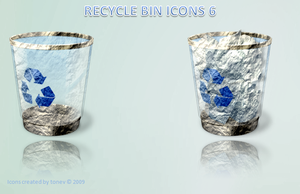 Stone like recycle bin by tonev