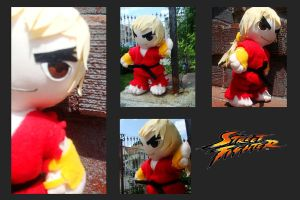 Street fighter Ken by CelestialCrafts