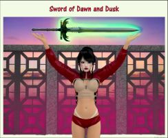 Sword of dawn and dusk by akulla3D