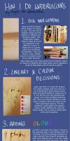 Watercolour Tutorial by Dreamsoffools