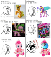 HASBRO Y U NO MAKE TOYS RIGHT? by Stitchfan