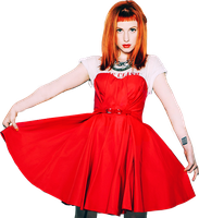 Hayley Williams Png by Suyesil