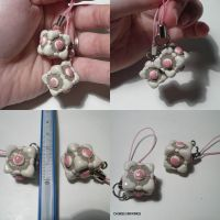 Companion Cube Charm by ChibiSilverWings