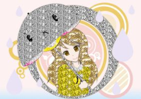Bee And Puppycat Glitter by paigethesecret21385