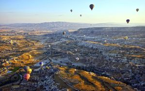 Sunrise over Cappadocia by CitizenFresh