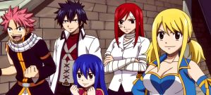 Fairy Tail - Team A by KagomeChan27