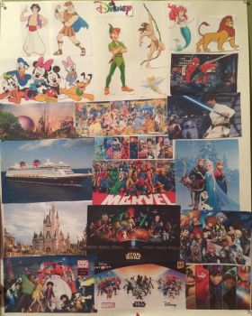 My Homemade Disney Poster by ninamguillen97
