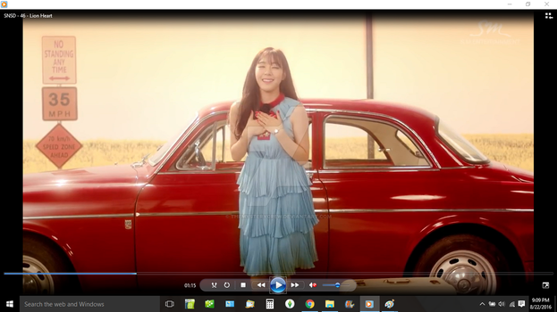 SNSD's Tiffany in Lion Heart Screenshot by ThEmYsTERYcReW