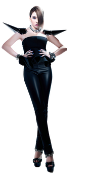 CL (2NE1) PNG [Render] by GAJMEditions