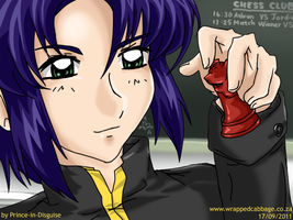 Athrun Zala - Red Knight by Prince-in-Disguise
