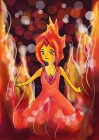 Adventure Time - Flame Princess by Sacari