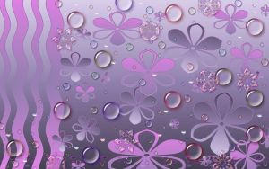 Sookie Purple Wave Wallpaper by sookiesooker