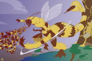 BREATH WEAPON: BEES by egypturnash