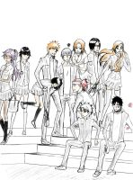 Bleach School by XPsoul