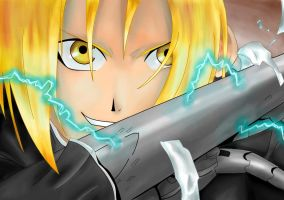 Edward Elric FIGHT by naruto-hinata-fan-1