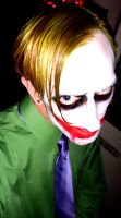 Me as the Joker on halloween by Atom303