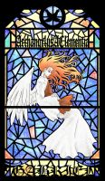 TSFH Stain Glass 1- Gabriel by MPsai