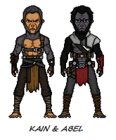 Planet Of The Apes  Kain and Abel by Melciah1791