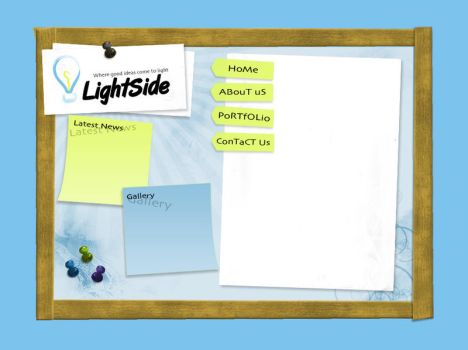 LightSide Website by webArtist