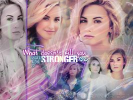 Demi Lovato BLEND by JustWanaMakeYouSweat
