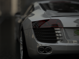Audi R8 v1 by sabrefresco