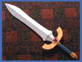 KH2 Dream Sword Papercraft by Tektonten
