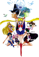 Sailor Moon R Film 1 Render by anouet