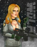 From my gun to your heart by Mauricio-Morali