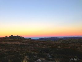 Sunset on Mt Kosciuszko by Zlata-Petal