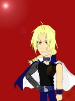 Edward Elric, King of games?.. by kimartess