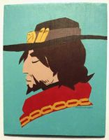 Jesse McCree by RandomDraggon