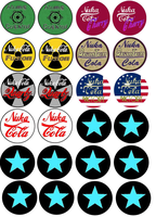 Fallout New Vegas Bottle Caps SECOND SET! by lcponymerch