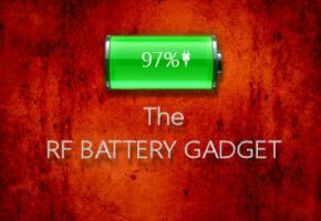 The RF Battery Gadget by rodfdez