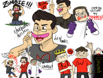 Markiplier: DRUNK MINECRAFT by lewisrockets