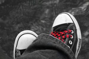 Converse:Red Check by Silvereyed