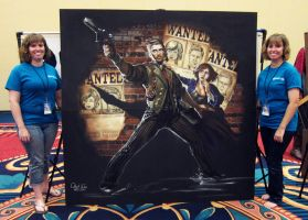 Bioshock Infinite and Artists by ChalkTwins