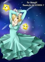 Harmonie in the sky (Kiriban 10 000#)  // Rosalina by Khaneety