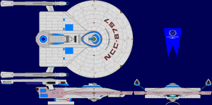 USS Edmund Fitzgerald Refit Multi-View by captshade