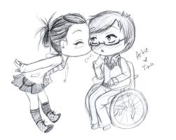 Artie and Tina by April-Lily