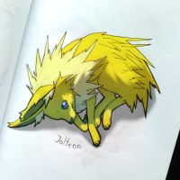 Jolteon by Lailamon