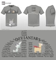 DeviantART T-shirt Design by TheAvatar1213