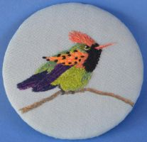 Tufted Coquette by imagination-heart