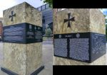Malta GC Memorial, Tower Hill, London. by homicidal45